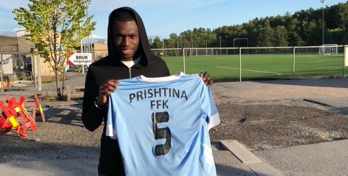 Momodou Darboe er klar for Fredrikshald Prishtina!