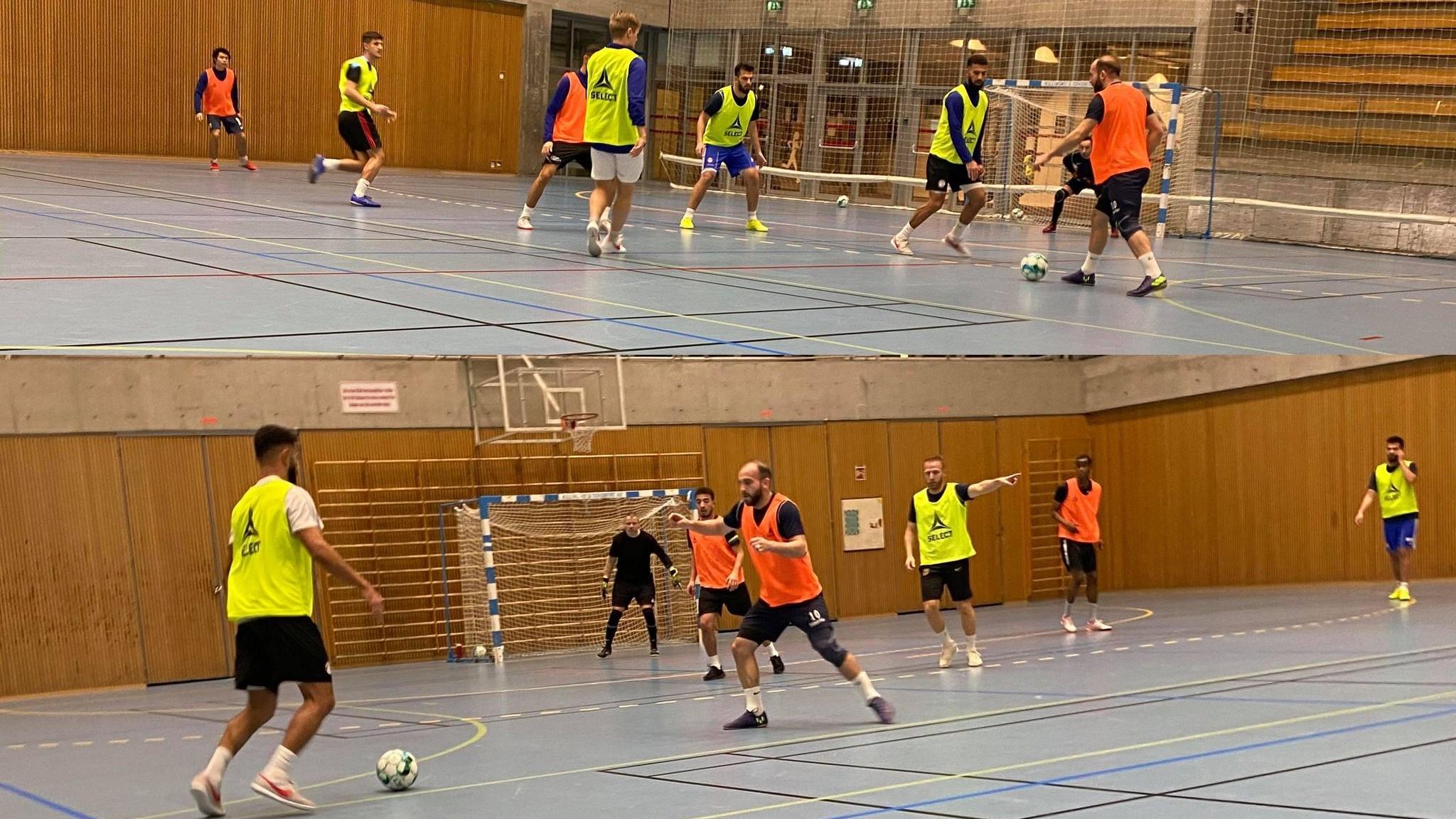 Bilde fra trening